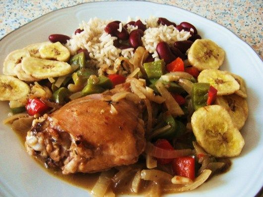 Jamaicaanse keuken: coconut chicken casserole