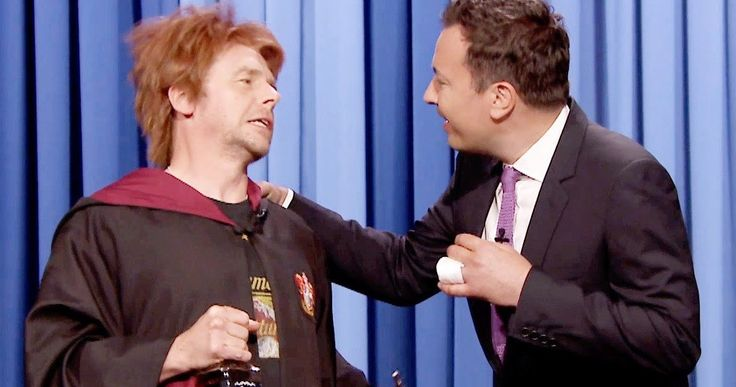Watch 'Harry Potter' Get Birthday Wishes from Drunk Ron Weasley -- Simon Pegg showed up on 'The Tonight Show with Jimmy Fallen' playing a very drunk Ron Weasley, wishing Harry Potter a happy birthday. -- http://movieweb.com/harry-potter-birthday-drunk-ron-weasley-video/