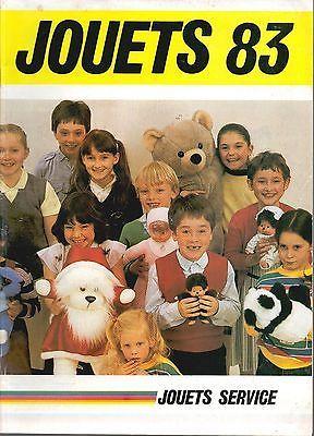 ▬► Catalogue Jouets Service 1983 Big Jim_Poupées_Playmobil_Console Jeux Atari
