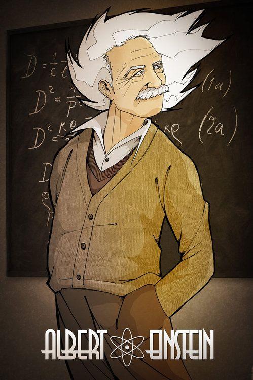 physicistsneedlovetoo:    Albert Einstein by ~TheKangrejoman