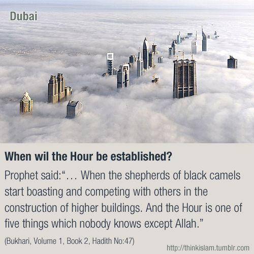 When will the hour (end of times) be established? #akhirah #hadith #hadis #dubai
