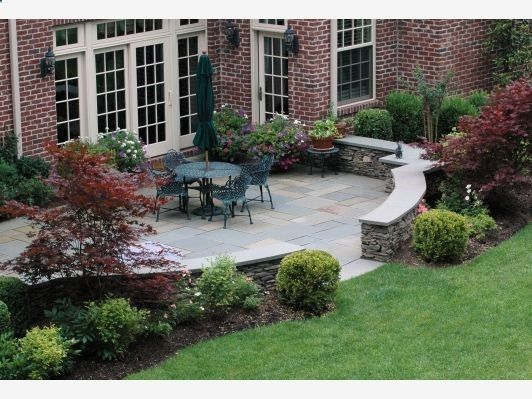 Pin by clifford conrad on gardening pinterest for Patio landscaping