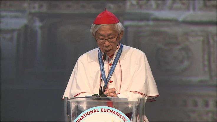 Joseph Cardinal Zen speaks of the Chinese Martyrs at International Eucharistic Congress 2016