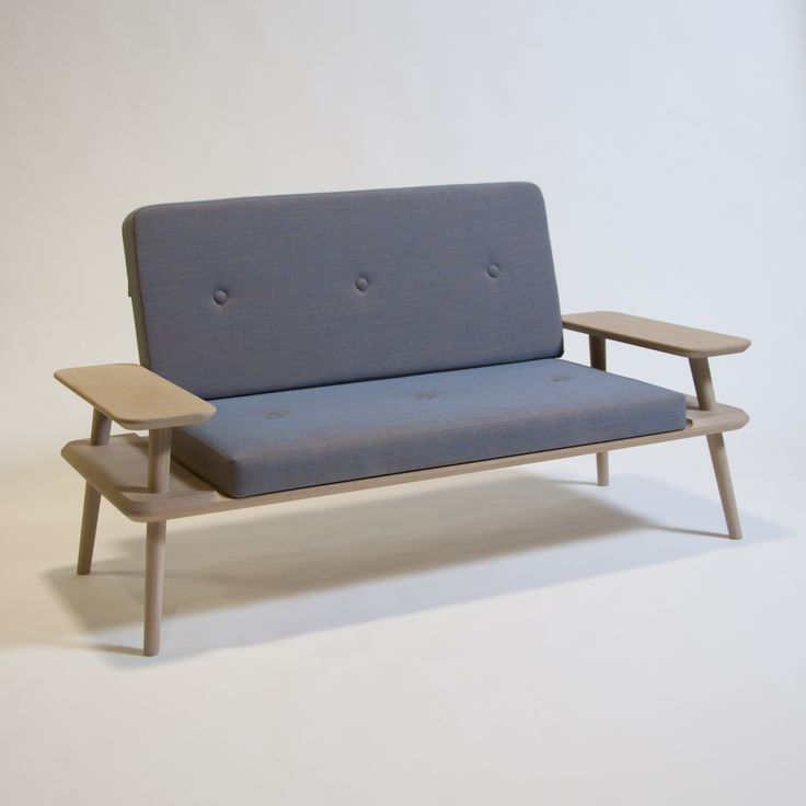Laptop sofa. Designed by Rasmus Fenhann. Was a part of the cabinetmaker autumn exhibition 2014. #interior #design   http://www.kjeldtoft.com/
