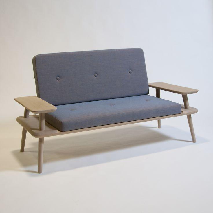 Laptop sofa. Designed by Rasmus Fenhann. Was a part of the cabinetmaker autumn exhibition 2014. #interior #design   http://www.kjeldtoft.com/