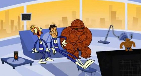 Disassembled - Junaid Chundrigar - Corto animato sugli eroi Marvel
