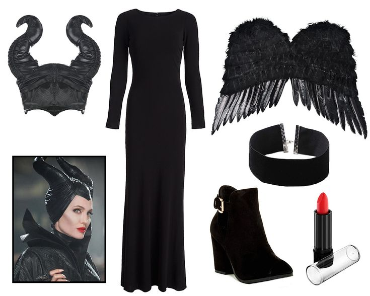 3 Wickedly Stylish Disney Villain Costumes | Chic Maleficent Halloween costume inspiration | [ http://di.sn/60048BTrq ]