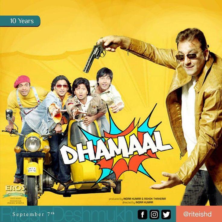 The funniest film I have been part of #Dhamaal #DecadeOfDhamaal Crazy cast @sanjaydutt @ashishchowdhryofficial @arshad_warsi @J