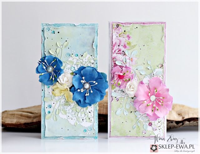 Blog sklep-ewa.pl: Kwiatowe kartki