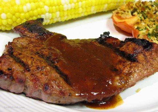 Ww Texas Steak With BBQ Sauce - 6 Points Recipe - Food.com