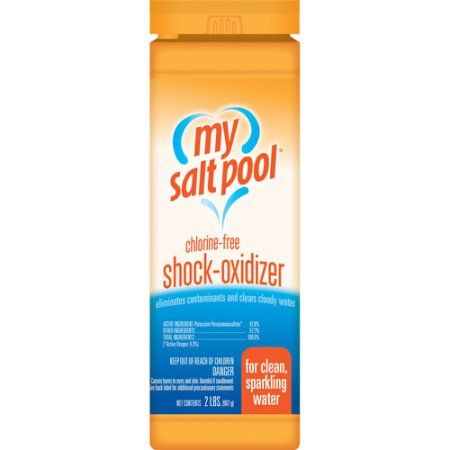Aqua Chem 2lb My Salt Pool Chlorine Free Shock