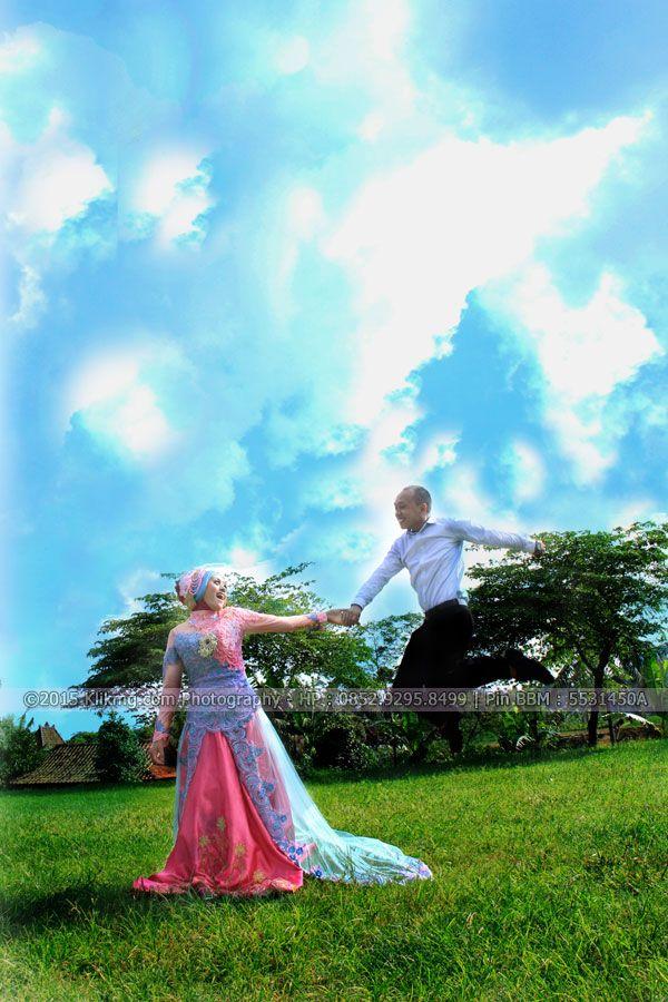 Prewedding DELA & TEFUR - Foto oleh KLIKMG Fotografer Purwokerto | Rias & Busana oleh : UTAMI IRAWAN Rias Pengantin Purwokerto - Rias Prewedding Purwokerto