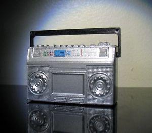 Vintage Retro 80's Boombox Ghettoblaster by TinyPlanetVintage