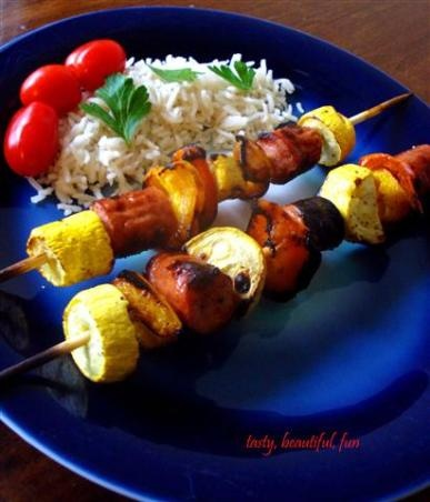 17 Best images about Kabobs on Pinterest   Beef kabobs, Shrimp kabobs ...