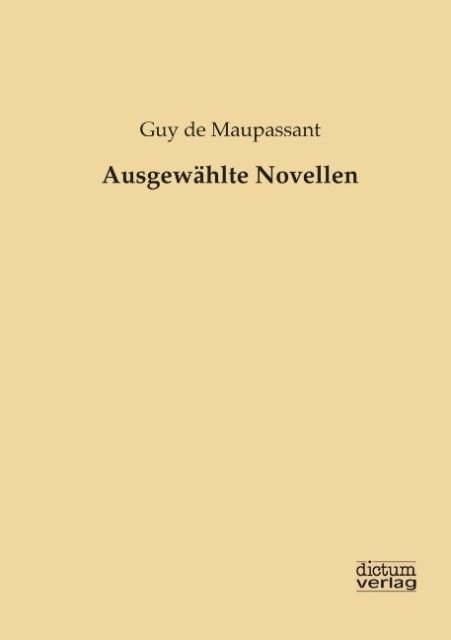 Ausgewählte Novellen als Buch