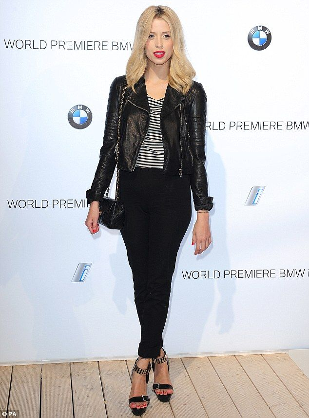 Peaches Geldof at BMWi3 party in London
