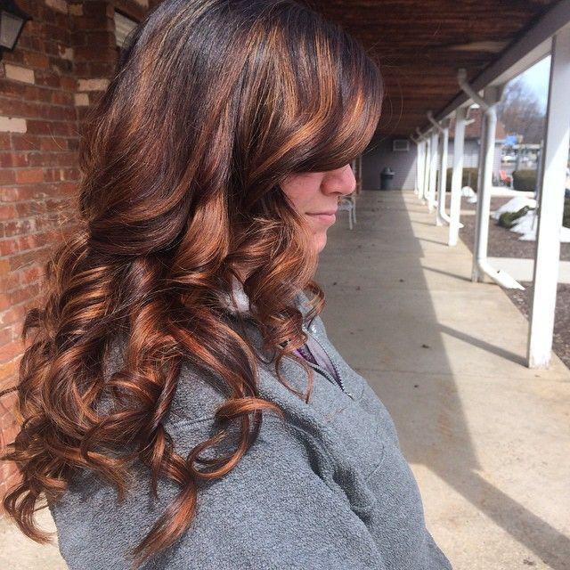 25 best ideas about balayage blond sur brune on pinterest ombr hair brune cheveux la - Balayage pour brune ...