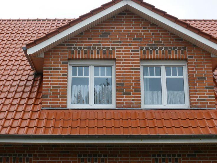 Kocia Kostka: Ceglane domy na Borkum