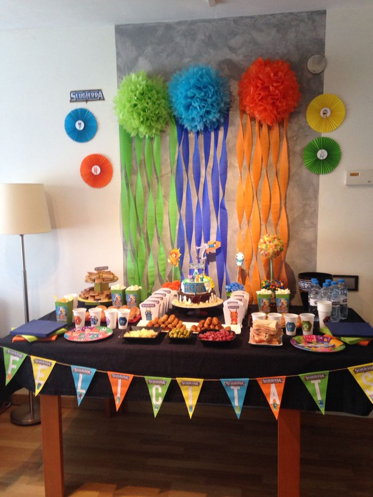 Slugterra party decoration