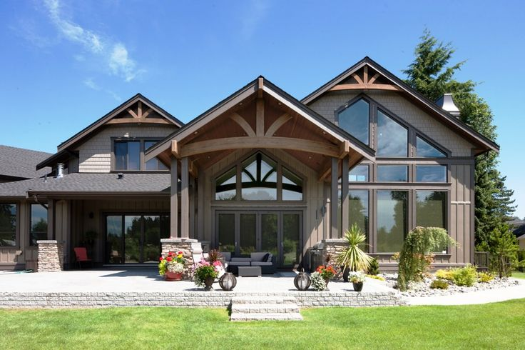 Image result for west coast craftsman style home w…