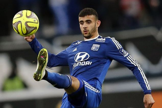 Report: West Ham pressing ahead with bid to sign Lyon winger Rachid Ghezzal on free transfer www.ae6688.com