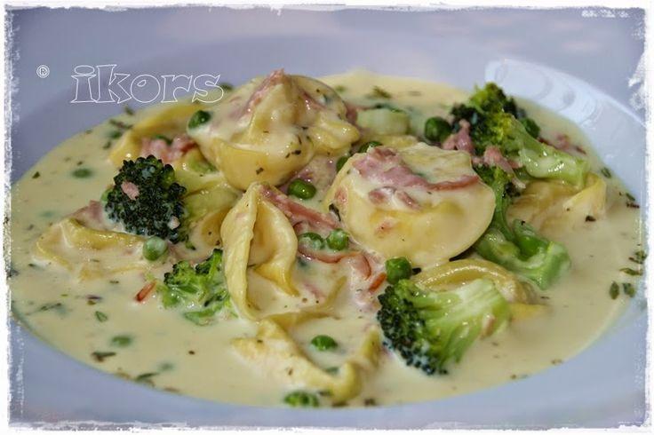 Kochen....meine Leidenschaft: Tortellini mit Brokkoli in Kräutersahne