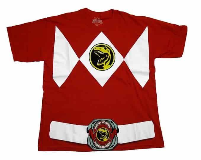 Power Ranger Red T-Shirt Tee
