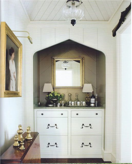 Bar nook house things pinterest nooks bar and ceilings for Belle chambre atlanta