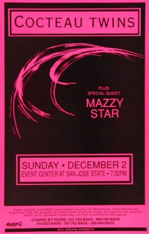 Mazzy Star Tour  Poster