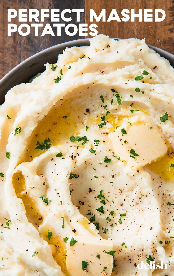 Apr 3, 2020 – Here's how to make the BEST mashed potatoes every time. Get the recipe from Delish.com. #potatoes #mashed …