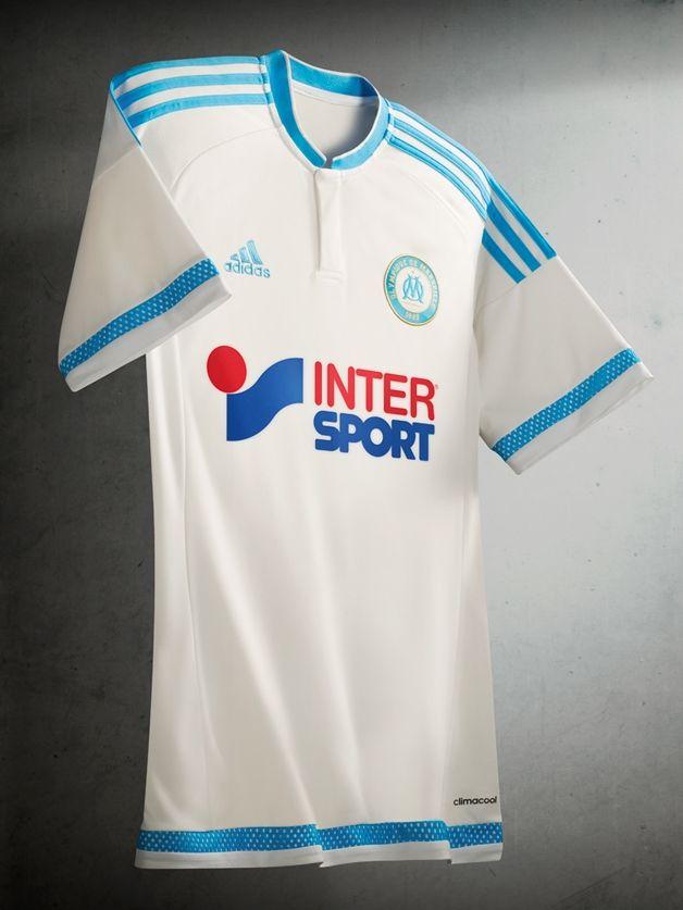 Olympique Marseille 2015-16 adidas Home