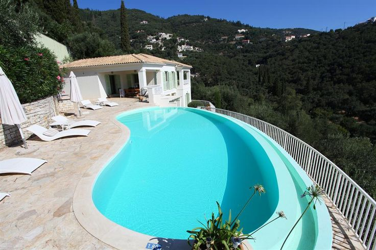 Villa in Agni Beach, Corfu, Greek Islands. Book direct with private owner. GR1858