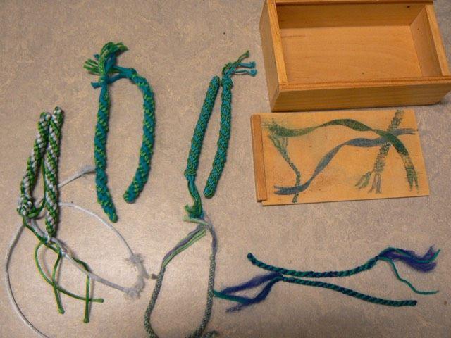 parenwerkje touwtjes   Montessoriwerkjes   L.v.B.