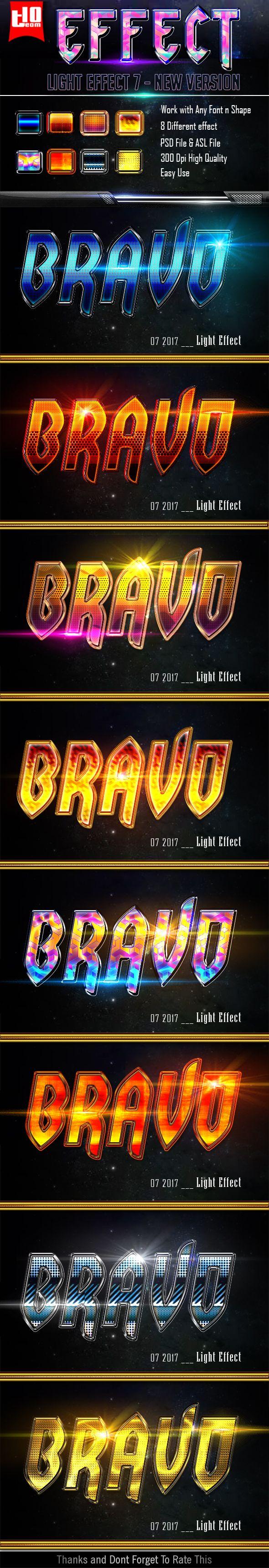 Light Text Effect 7