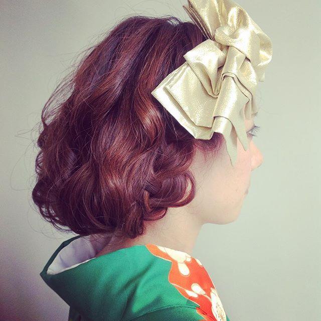 和装にも、ウェディングドレスにも、相性抜群!「ボブ風ヘアアレンジ」のおしゃれなヘアカタログ12選*。 | ZQN♡