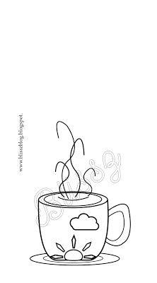 Egy kis színezhető reggeli ébresztő kávé - próbálkozások az Illustratorban