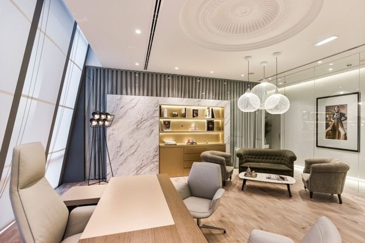 Retail Design Bureau.Mojeh Magazine Offices By Swiss Bureau Interior Design Dubai Uae