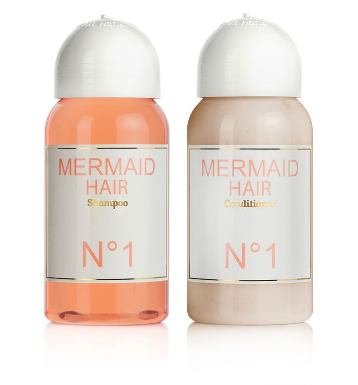 MERMAID HAIR - Shampoo & Conditioner - orange blossom flowers & coconut - all natural - sulfate free - made with love ♥