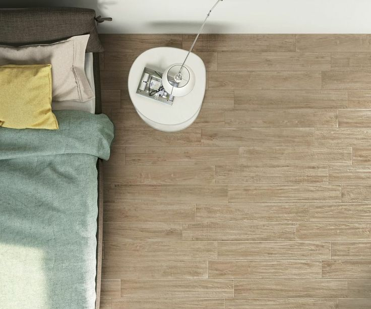 Get a good night sleep in this allergy free bedroom, thanks to the tiled floor. WOODCOMFORT is available in three colours.
