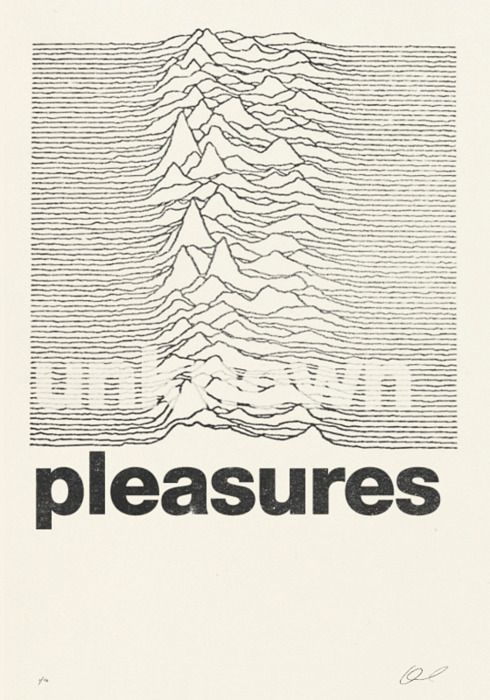 Joy Division - Unknown Pleasures - Peter Saville