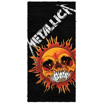 Metallica Pushead Sun Beach Towel