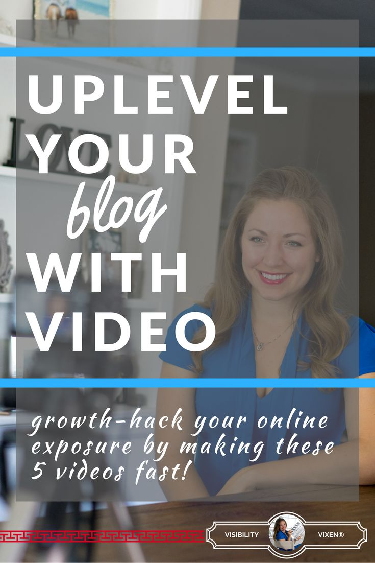 WHY YOU NEED THIS: Blogging is hard enough. You put in all of this work...+ sometimes you hear crickets. I want to help you change that...through video. WHAT YOU'LL LEARN: -How video will increase your exposure with strategic placement -Where to start: Actionable steps to walk away knowing exactly how to make your first 5 videos -Secret spy tips for a killer video above your blog WHEN: Tuesday, October 4th at 11amPST REGISTER NOW!