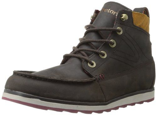 Tretorn Men's Holdyn Leather Leather Work Boot,Chocalate Brown,10.5 D US  Tretorn,. Chocolate MarrónZapatos ...