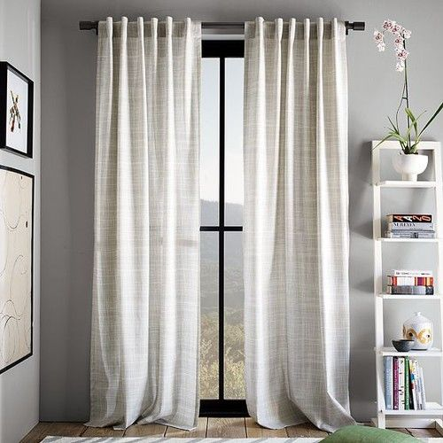 modern living room curtains. New Cotton Canvas Printed Crosshatch Window Panel  modern curtains West Elm Bedroom CurtainsModern Living Room Best 25 Modern living room ideas on Pinterest Curtains