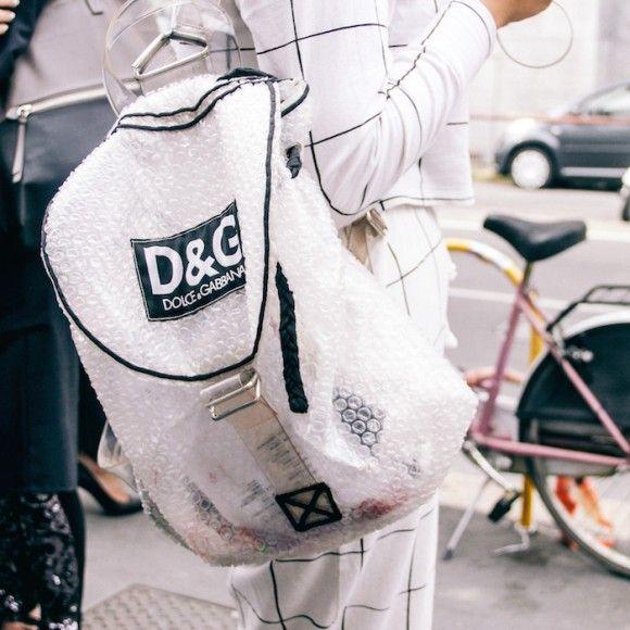 dolce gabbana bubble bag - street style - fall winter trends fashion @ramonatabita
