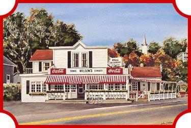 Welcome to Wilsons Restaurant & Ice Cream Parlor - Downtown Ephraim, Door County, Wisconsin