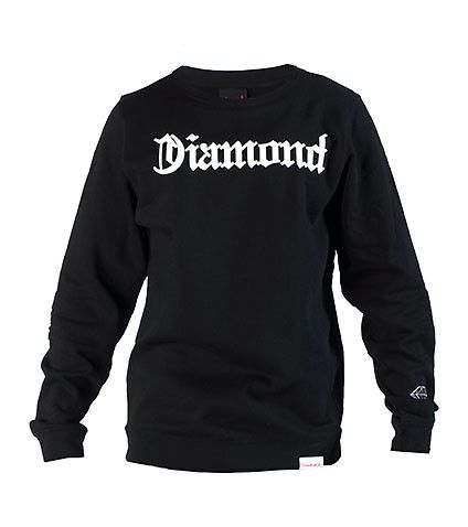 DIAMOND SUPPLY COMPANY DIAMOND 4 LIFE CREWNECK SWEATSHIRT-g7gq1w8D
