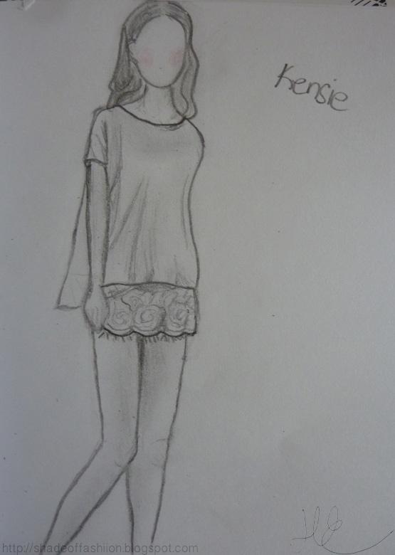 Shade of Fashiion - #kensie #fashion #drawing #sketch #art #girl