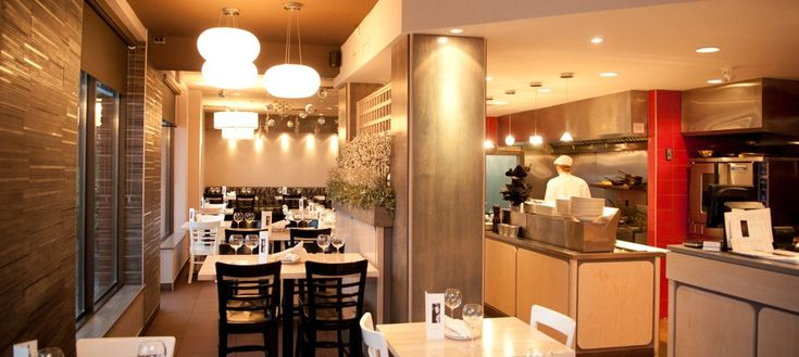Trendy casual eatery in a fun and lively environment.