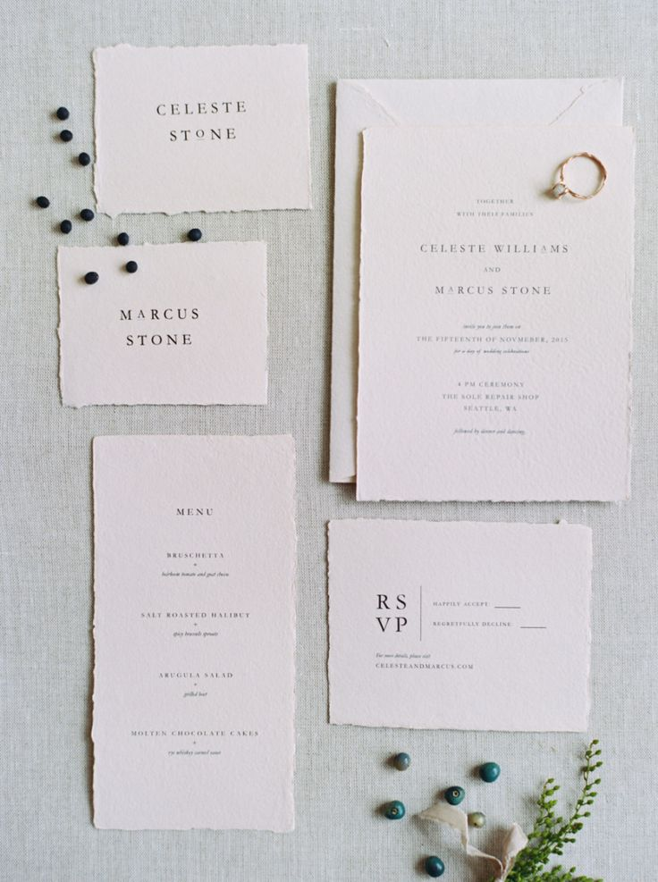 paper style wedding invitations%0A Stylish   Modern Winter Wedding Inspiration